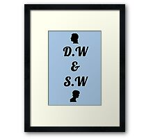 Sam and Dean Winchester Framed Print