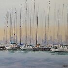 Williamstown Boats by Sam Gilmore