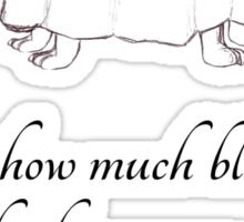 Dan Gerous on a Date Sticker