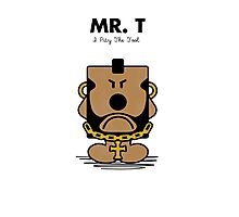 Mr. T Photographic Print
