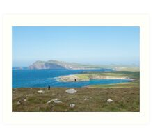 Dingle peninsula, Kerry, Ireland. Art Print