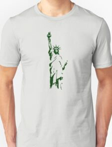 liberty usa new york america T-Shirt