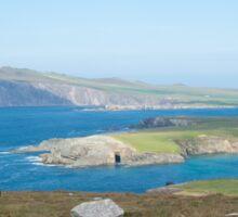 Dingle peninsula, Kerry, Ireland. Sticker