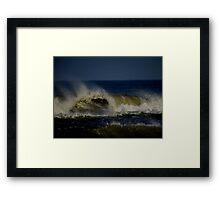 Ocean Wave Framed Print