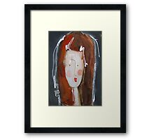 Y - from Alphabet Gal collection Framed Print