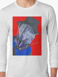 Robert Englund in A Nightmare on Elm Street Long Sleeve T-Shirt