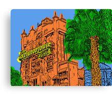 Tower of Terror Disney World Canvas Print