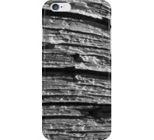 black and white texture iPhone Case/Skin
