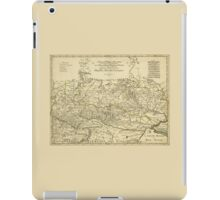 Map of the Ukraine by Guillaume Sanson (1674) iPad Case/Skin