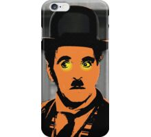 Charles Chaplin Charlot in The Great Dictator iPhone Case/Skin