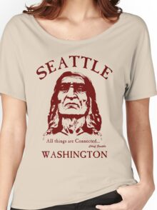 Chief Seattle Women's Relaxed Fit T-Shirt