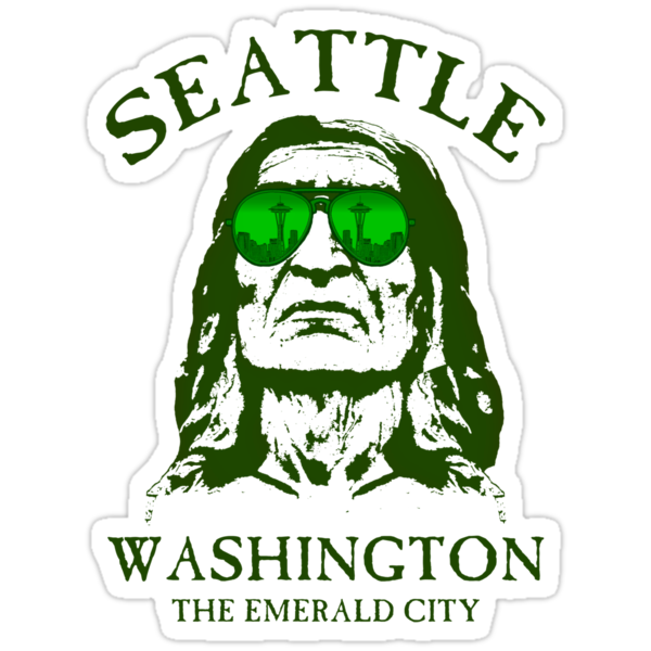 Seattle-The Emerald City by GUS3141592