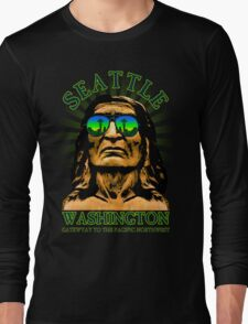 Seattle - Gateway to the Pacific Northwest Long Sleeve T-Shirt