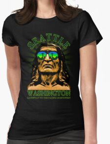 Seattle - Gateway to the Pacific Northwest Womens Fitted T-Shirt