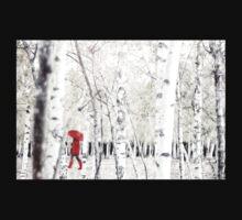 Winter Birches One Piece - Short Sleeve