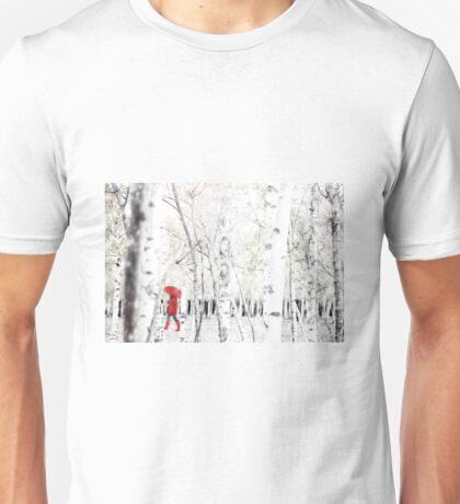 Winter Birches Unisex T-Shirt