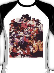 Street Fighter 3: 3rd Strike Cast T-Shirt