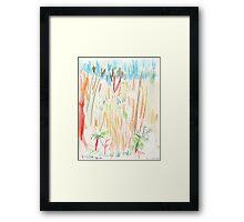Edgecliff Escarpment Framed Print