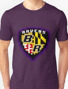 8Bit Ravens Coat of Arms T-Shirt