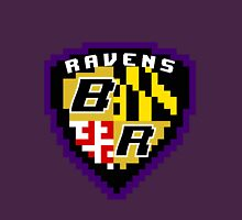 8Bit Ravens Coat of Arms Unisex T-Shirt