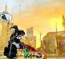 city sunrise by sebastian