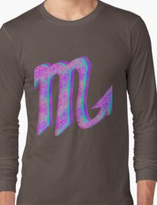 Scorpio Psychedelic Long Sleeve T-Shirt