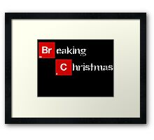 Breaking Christmas Framed Print
