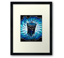 Dr Who - The Tardis Framed Print