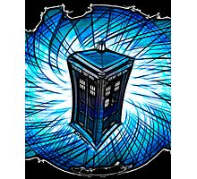 Dr Who - The Tardis Photographic Print