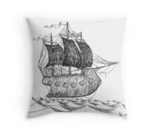Caleuche (Flying Dutchman) Throw Pillow
