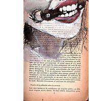 Teeth Photographic Print
