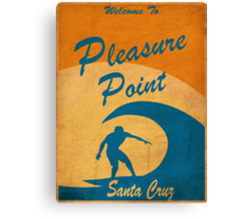 Pleasure Point Canvas Print
