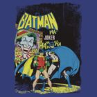 Batman and the Joker Tee by Elijah Gomez