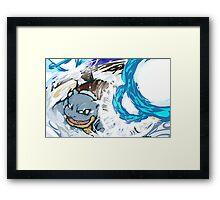 Blastoise | Hydro Cannon Framed Print