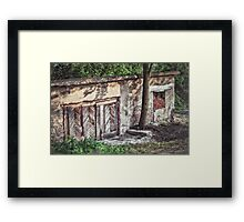 Underneath Rtanj's Shade Framed Print