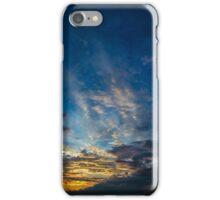 Sunset Over Lake Michigan iPhone Case/Skin