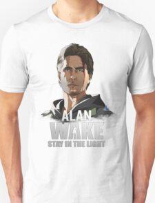 Alan Wake Colored Unisex T-Shirt