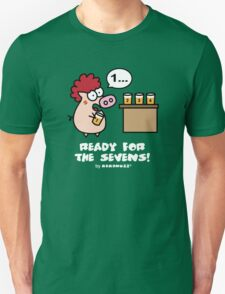 Ready for the Sevens! - Rugby and Beer T-Shirt