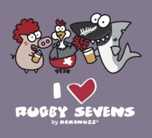 I love Rugby Sevens Kids Clothes
