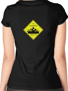 Australian sign Teemo mushroom league of legends Women's Fitted Scoop T-Shirt