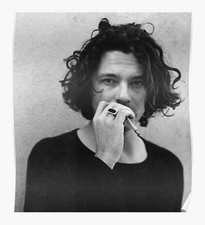 Michael Hutchence is INXS Poster