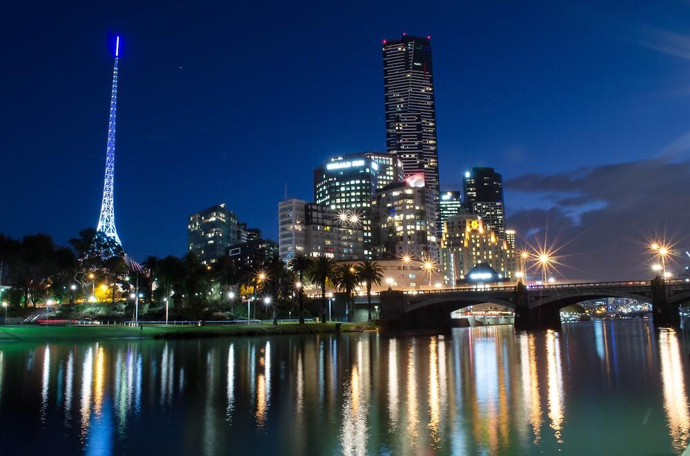 Crown Complex & Arts Centre, Melbourne VIC by Paul Cudina