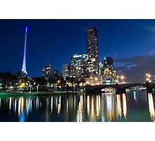 Crown Complex & Arts Centre, Melbourne VIC Photographic Print