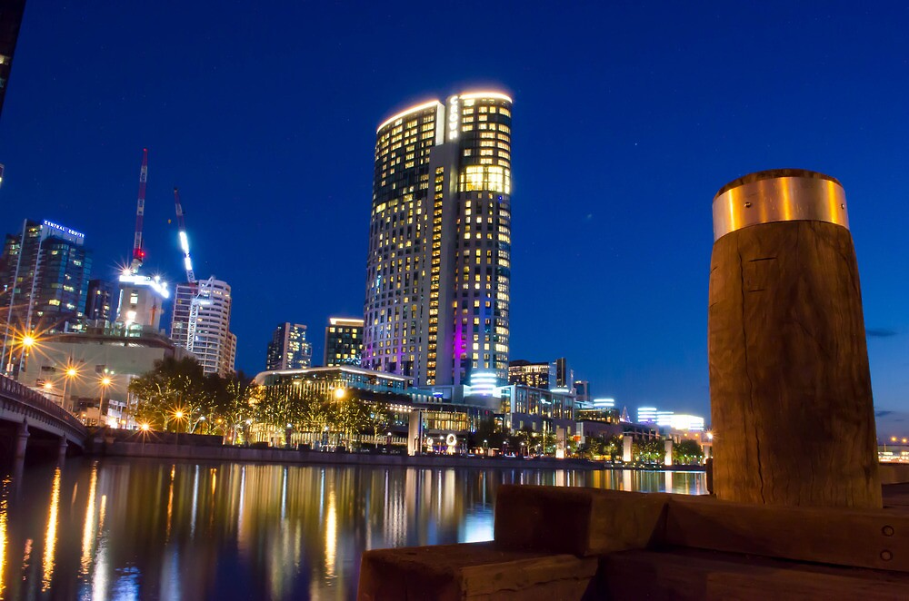 Crown Casino, Melbourne VIC by Paul Cudina