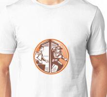 Businessman Phone Booth Adventurer Explorer Archaeologist Unisex T-Shirt
