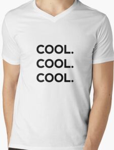 Cool. Cool. Cool. Mens V-Neck T-Shirt