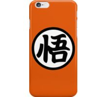 Goku kanji iPhone Case/Skin