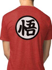 Goku kanji Tri-blend T-Shirt