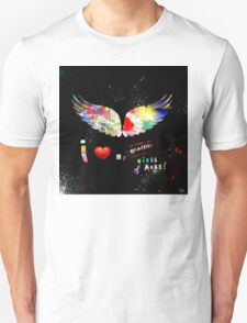 I love my Graffiti wings of angel Unisex T-Shirt
