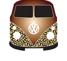 Leopard VW Camper Shine by splashgti